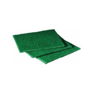 Green Vinyl Scour Pads