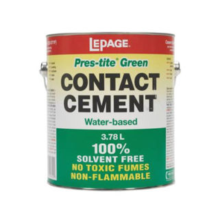 Pres-tite Green Contact Cement