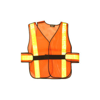 W.C.B. Traffic Vest 5 Point Breakaway